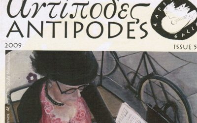 Next October the new edition of the 'Antipodes' periodical