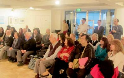 'Singing Against the Silence': The Poetry Reading at Steps Gallery