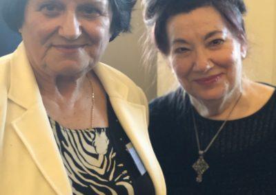 Kiki Mouratidou and Dina Amanatides