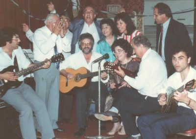 From an event in the 1990s with Kosta Tsikaderis