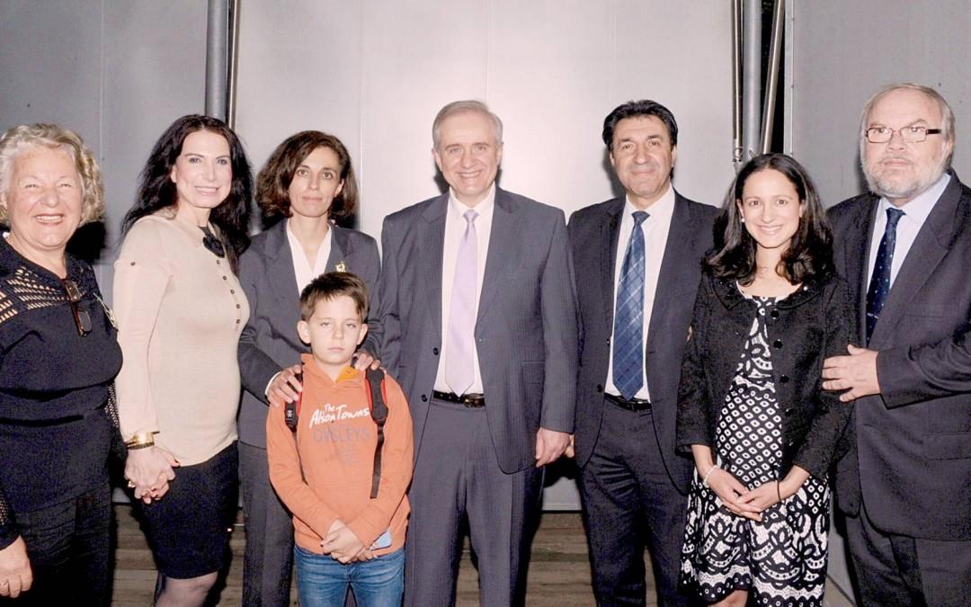 The launch of Emilios Kyrou's autobiography «Nα με λέτε Αιμίλιο»