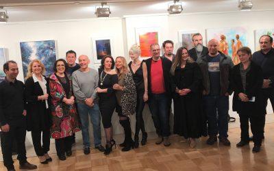 Με επιτυχία πραγματοποιήθηκε η έκθεση Antipodean Palette 2017