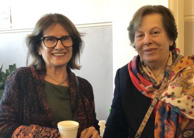 Helen Nickas and Pota Katsaras